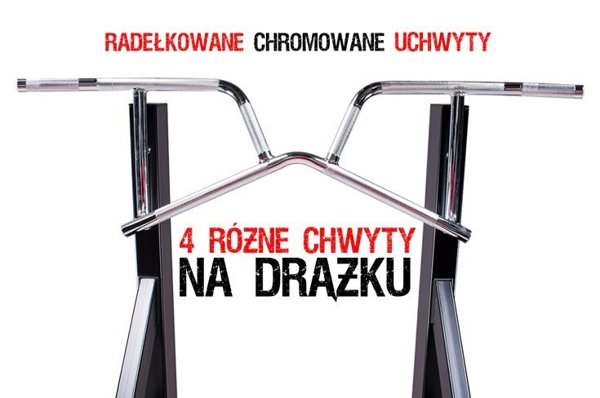 Drążek stacjonarny, drabinka do PL7, poręcz stacjonarna do PD1 Kelton Gym Equipment