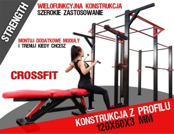 Klatka do crossfit PM38 Kelton STRENGTH