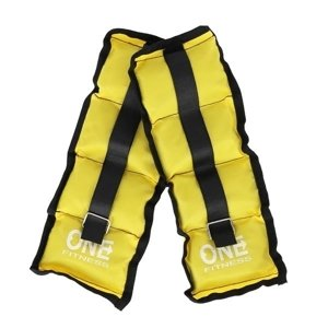 WW01 YELLOW OBCIĄŻNIKI 2 x 0.7 KG ONE FITNESS